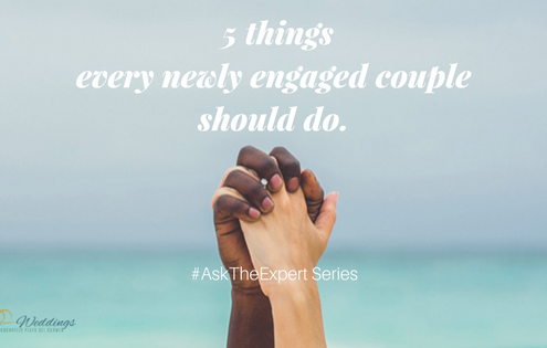 5 things every newly engaged couple should do.
